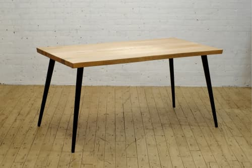 Kali Live Edge + Iron Reef Dining Table | Tables by From the Source