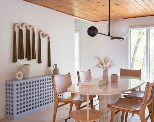 Chairs by Barnaby Lane seen at Private Residence, Grand Rapids - Spensley Dining Chairs