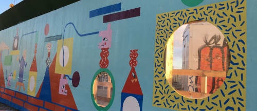 Street Murals by NOWHERELAND - Byggekaos