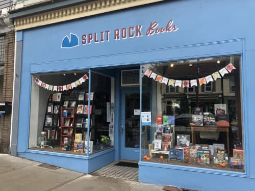 Split Rock Books Signage   Signage by Very Fine Signs