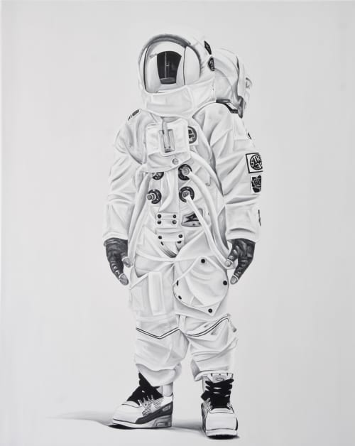 Astro | Paintings by Ricardo Rodriguez Cosme