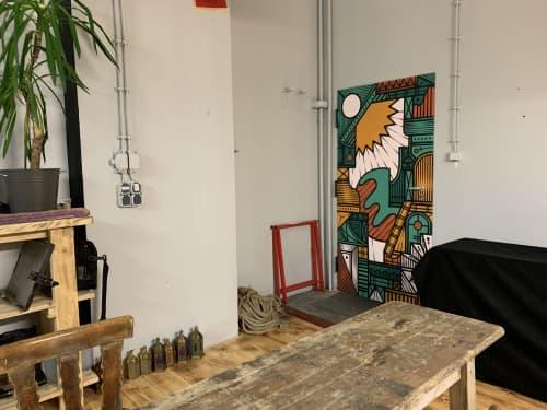Interior Design by Isakov seen at Private Residence, Berlin - Monopol Interior