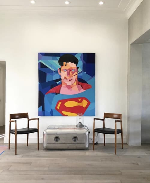 Art Curation by Moleiro Artwork at Private Residence - Miami, FL, Miami - Christoper Reeve