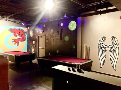 Indoor Murals | Murals by Ryan Frizzell (The Rhinovirus) | Clarion Inn in Murfreesboro
