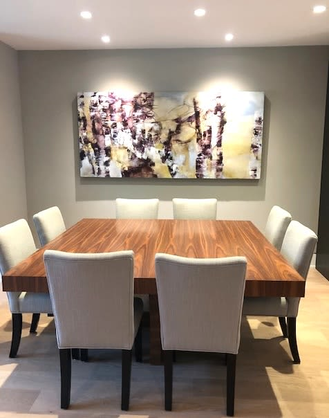 Private painting commission | Architecture by Niina Chebry | Vancouver in Vancouver
