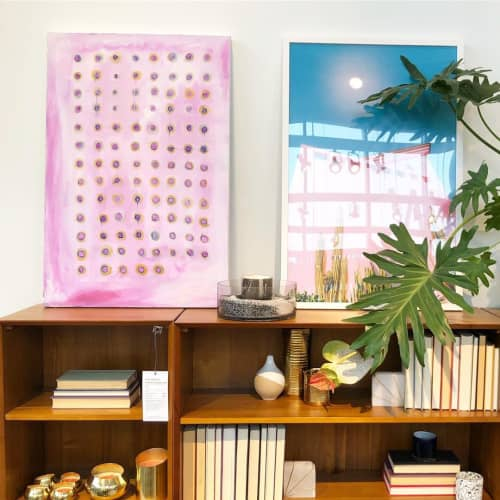 Paintings by Heather Kirtland at west elm, Baltimore - Knickers In A Twist