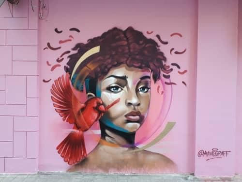 Murals by Nacho Mawe - Freedom