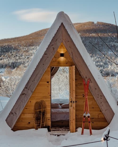 Architecture by Lushna Glamping at Eastwind Hotel & Bar, Windham - Lushna Cabin