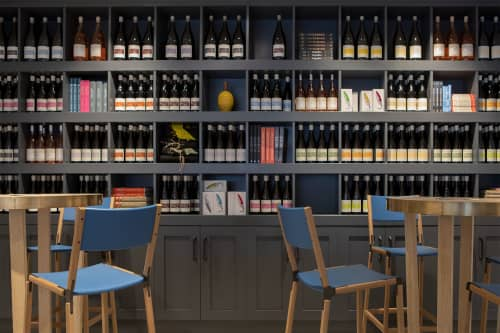 Stanyan Bar Stools   Chairs by Fyrn   LIOCO Wine Tasting Room in Healdsburg