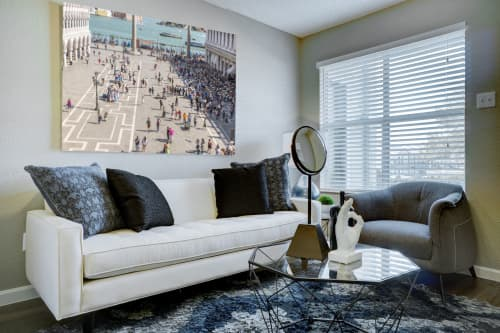 Photography by Richard Silver Photo seen at Private Residence, New York - Tilt Shift Venice