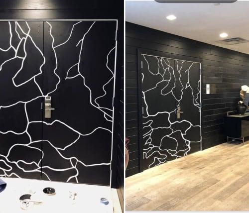 Murals by Lisa Tureson  STUDIO ARTISTICA seen at District of Columbia - Rock Creek Map