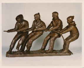 Pulling Together   Public Sculptures by Don Begg / Studio West Bronze Foundry & Art Gallery