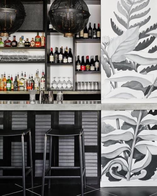 Bartlett Backless Bar Stool | Chairs by Fyrn | The Menhaden in Greenport
