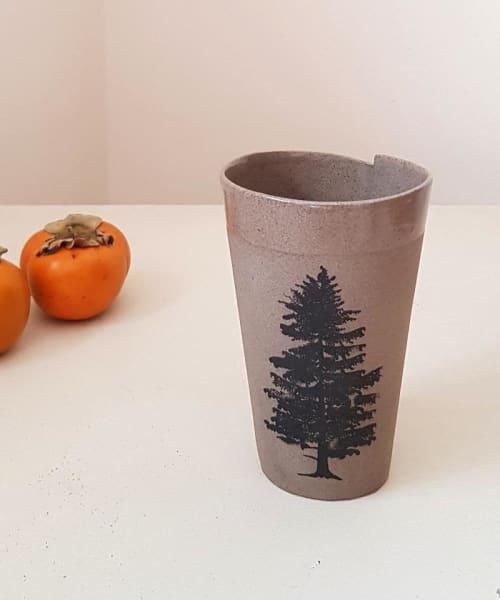 Ceramic Tree Mug | Cups by ShellyClayspot
