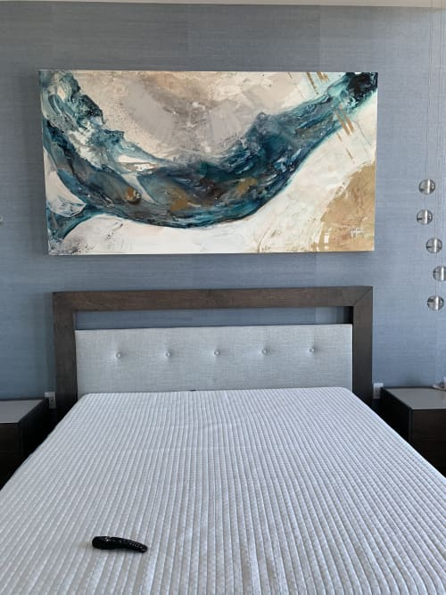Paintings by Maria Martin seen at W Austin, Austin - Big Whale