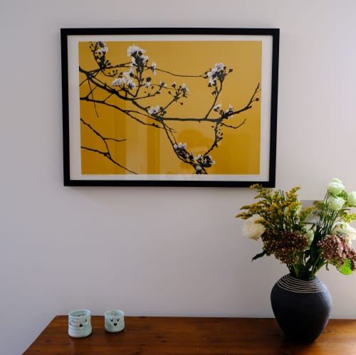 Art & Wall Decor by Lene Bladbjerg seen at Private Residence, London - Where flowers bloom, so does hope