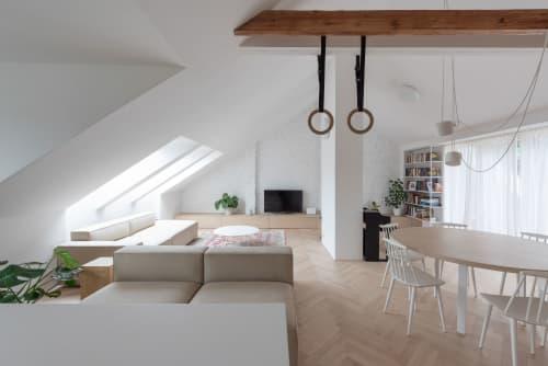 Attic Apartment in Bratislava | Architecture by Kilo / Honč | Private Residence, Bratislava in Bratislava