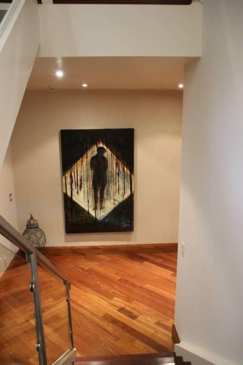 Paintings by Tibor Hargitai Art seen at Private Residence, Niagara-on-the-Lake - MATERIAL HAPPINESS 1996