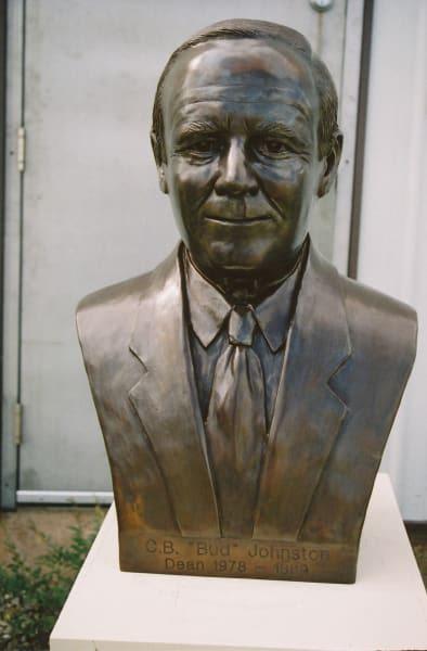"Johnston, Professor C.B. ""Bud""   Public Sculptures by Don Begg / Studio West Bronze Foundry & Art Gallery"