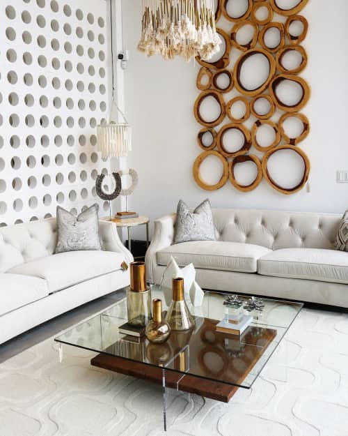 Tables by Gusto Design Collection seen at 12471 SW 130th St, Miami - RUBY COFFEE TABLE