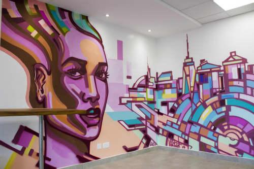 Defiance   Murals by Viktart Mwangi   The Oval in Nairobi