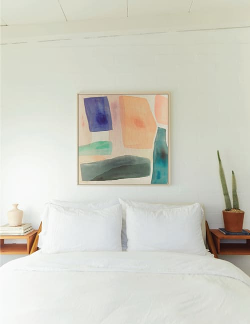 Paintings by maja dlugolecki - 'what i dream of' - linen print
