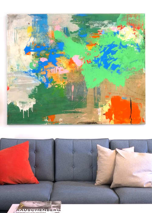 Paintings by Deanna Fainelli - Lucky