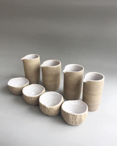 Utensils by HOJI CERAMICS seen at Galileo, Barcelona - Jugs and bowls