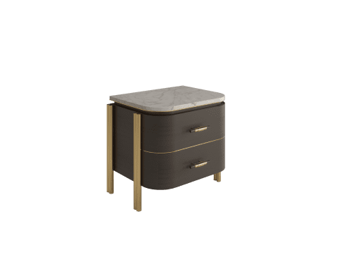 Poirot Bedside Table | Interior Design by ALGA by Paulo Antunes