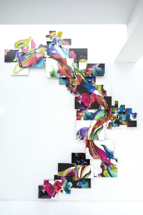Puzzle   Wall Hangings by Kahori Maki