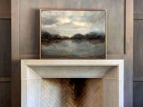 Moody Waters | Paintings by Jessica Whitley Studio