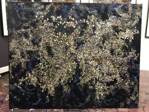 Murals by Rosemary Feit Covey seen at Morton Fine Art LLC, Washington - Panspermia