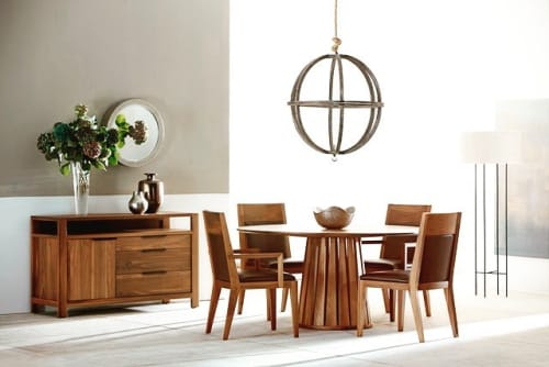 Tables by West Bros Furniture seen at Hanover, Hanover - Phase Round Table