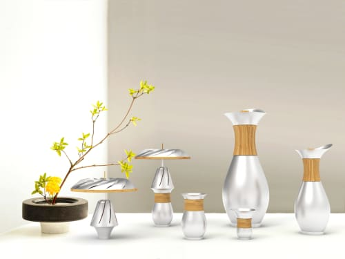 Tableware by Dorian Étienne • Design Studio at National Taiwan Craft Research and Development Institute - T-Wine