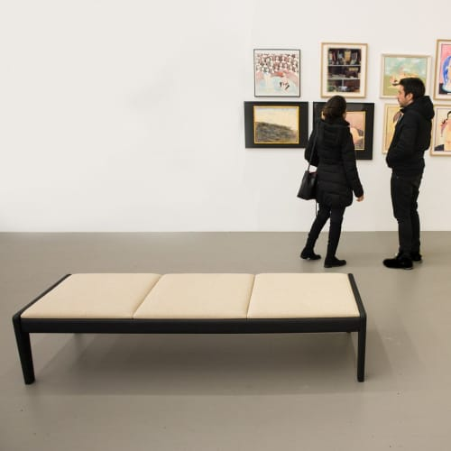 Lapwing Bench   Benches & Ottomans by Asa Pingree   Swiss Institute in New York