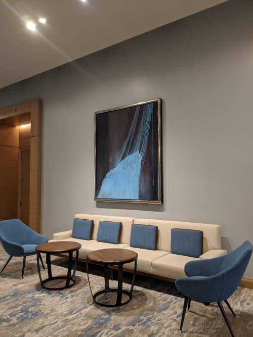 Graziella's Threads   Paintings by Trang T. Le   InterContinental San Diego in San Diego