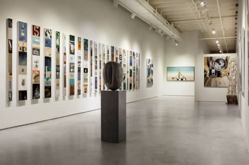 Storyline Panels | Paintings by Kelsey Irvin | exhibit by aberson in Tulsa