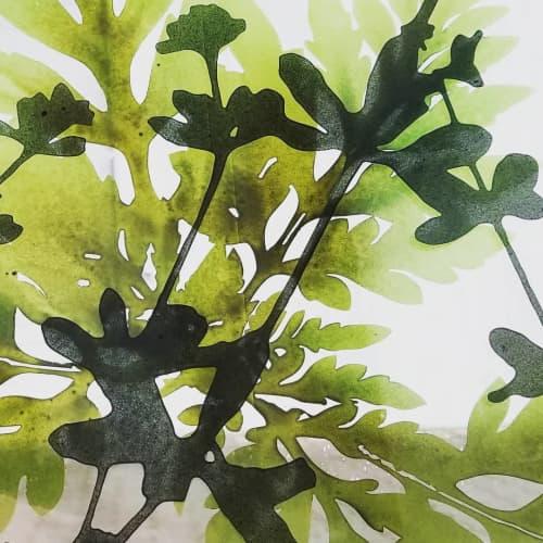 Floral Glass Sample | Paintings by Cara Enteles Studio | GLASMALEREI PETERS STUDIOS in Paderborn