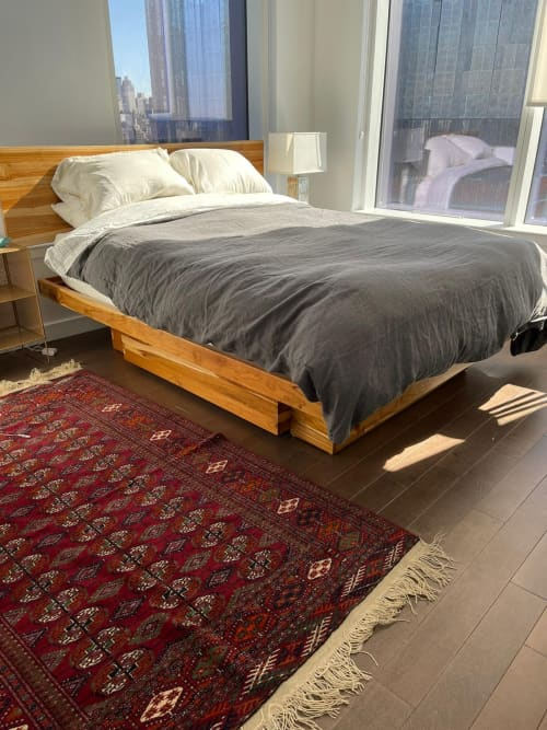 Elate Platform Bed   Beds & Accessories by From the Source