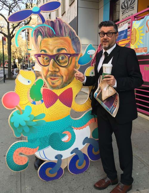 Mr. Wilkinson   Art & Wall Decor by BoogieREZ   Nord Anglia International School, New York in New York