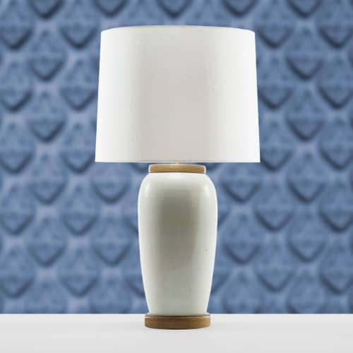 Lamps by Lawrence & Scott seen at Lawrence & Scott, Seattle - Holden Porcelain Table Lamp