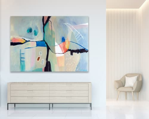 'New Kind' | Paintings by Sarina Diakos Art