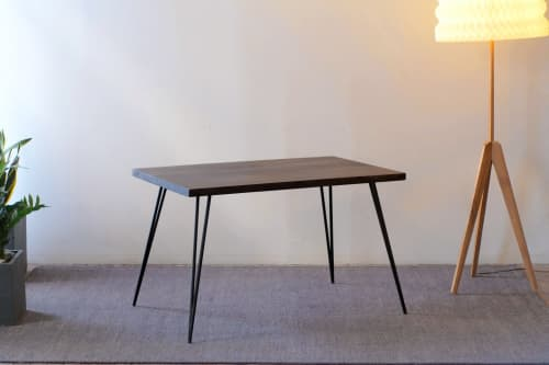 Clearance Lurus Straight Edge Tops • Mango / Oxidized | Tables by From the Source
