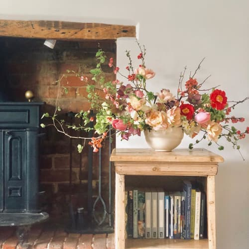 Vases & Vessels by Illyria Pottery Katie Coston seen at Private Residence, Turville - White Ceramic Vase