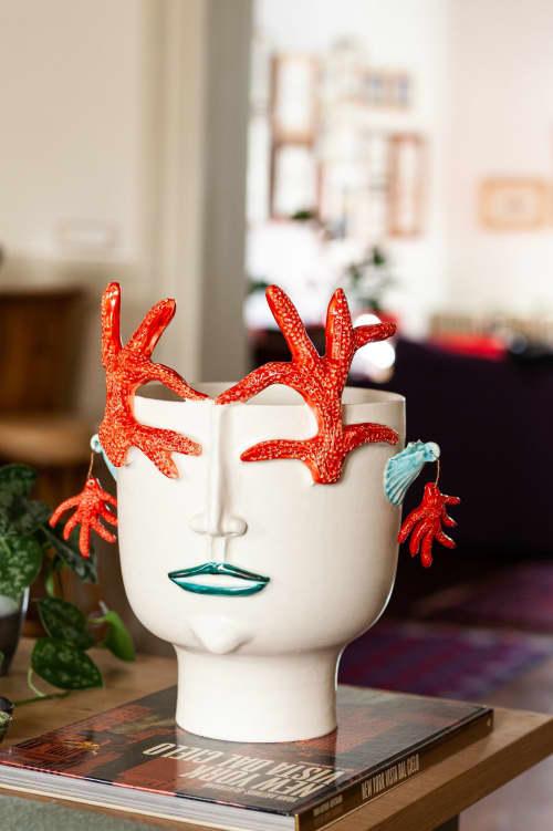 Vases & Vessels by Patrizia Italiano seen at Creator's Studio - Corallina defender of sea