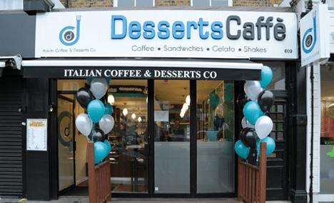 Interior Design by York Design Studio - Desserts Caffe