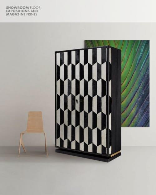 Neue Cabinet with Wine Rack   Furniture by Larissa Batista