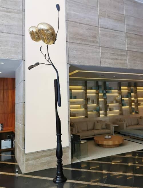 Sculptures by Estudio Manus seen at Renaissance Sao Paulo Hotel, Jardim Paulista - Coffee Totem
