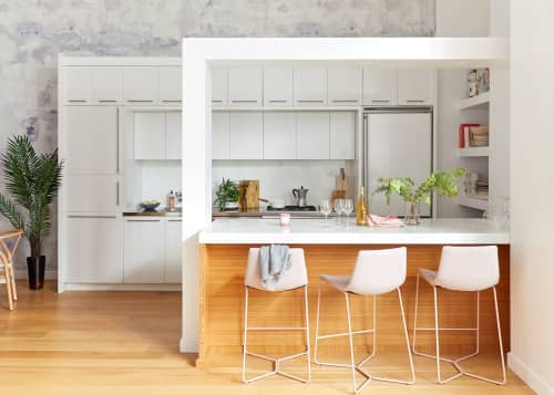 Architecture by Laurie Blumenfeld Design seen at Private Residence, Long Island City, Queens - Loft Living
