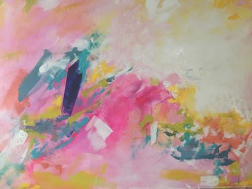 Pink Opera 🔴 | Paintings by Darlene Watson Fine Artist